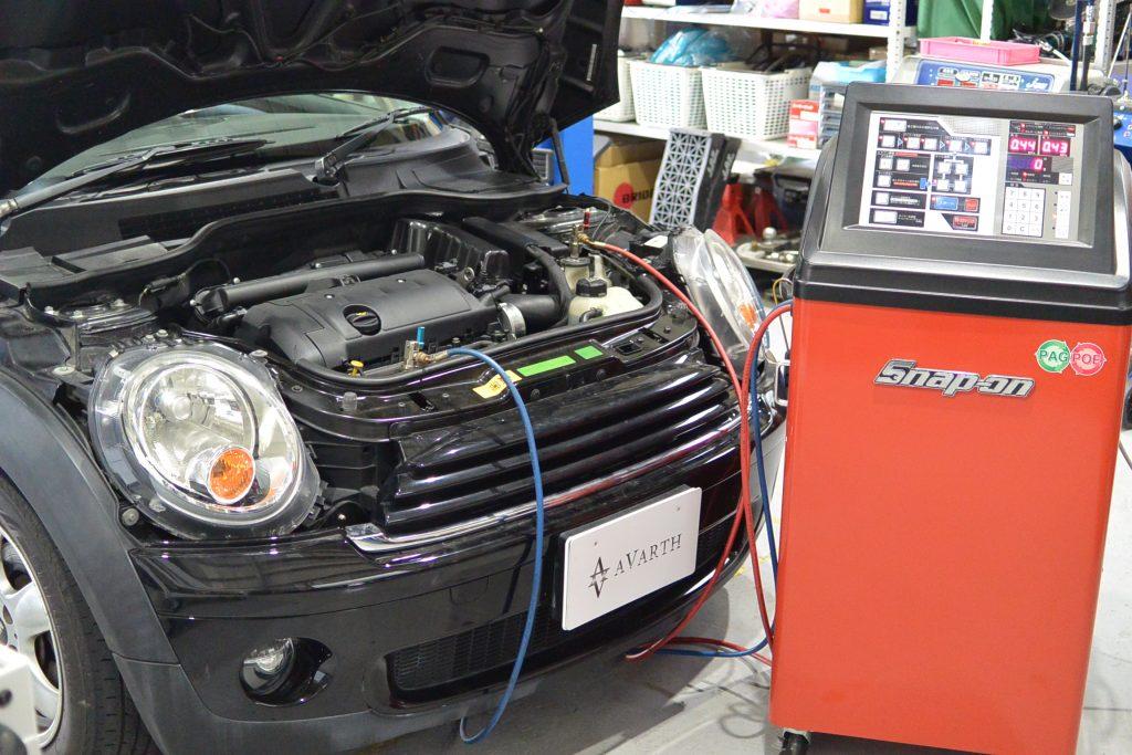 エアコンクリーニング スナップオンPS134 輸入車 AVARTH BMW