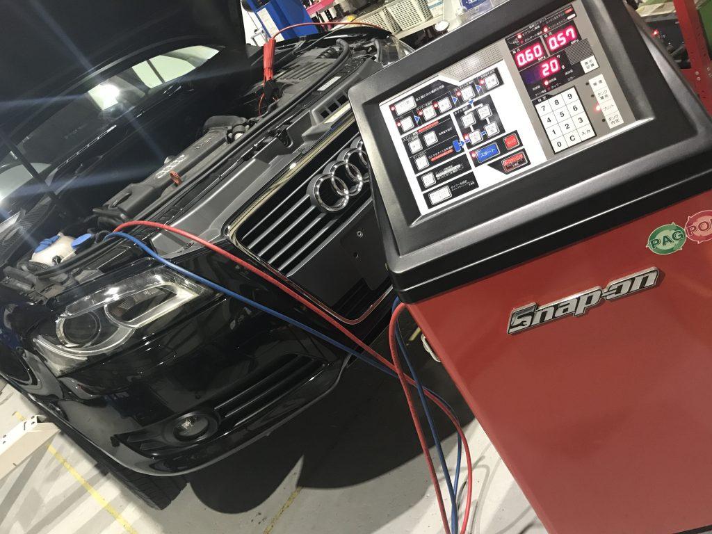 エアコンクリーニング スナップオンPS134 AVARTH 輸入車