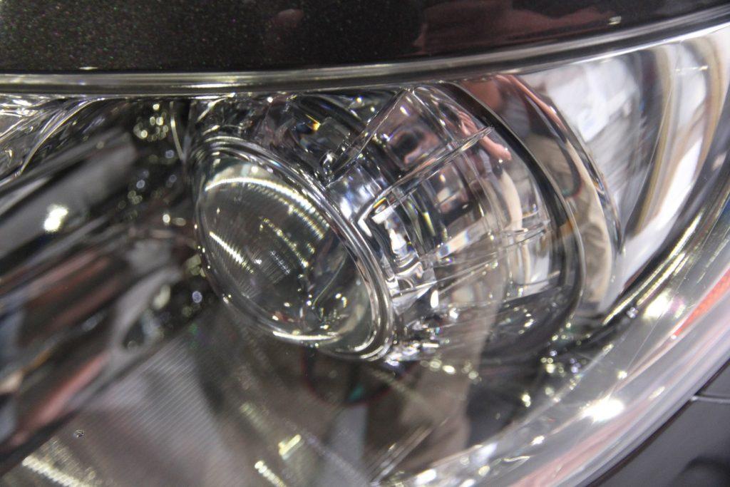レクサス LS ヘッドライト再生 ドリームコート施工後 AVARTH アヴァルト 岐阜 ドリームコート認定プロショップ