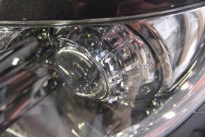 ドリームコート 認定技術研修 レクサス LS クラック修理 ヘッドライト黄ばみ 施工後