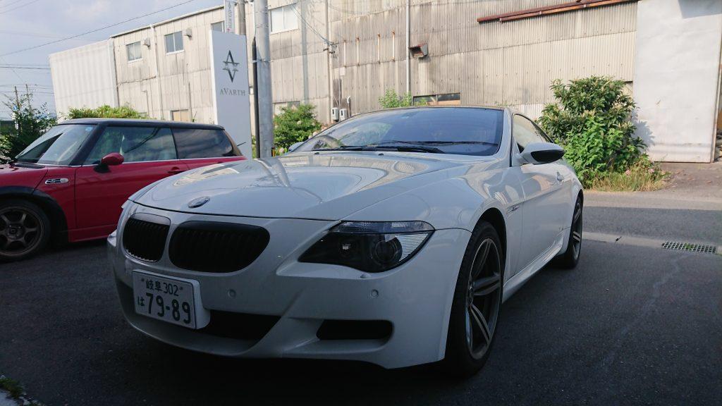 AVARTH 岐阜 BMW 6シリーズ M6 岐阜県 BMWカスタム BMW修理
