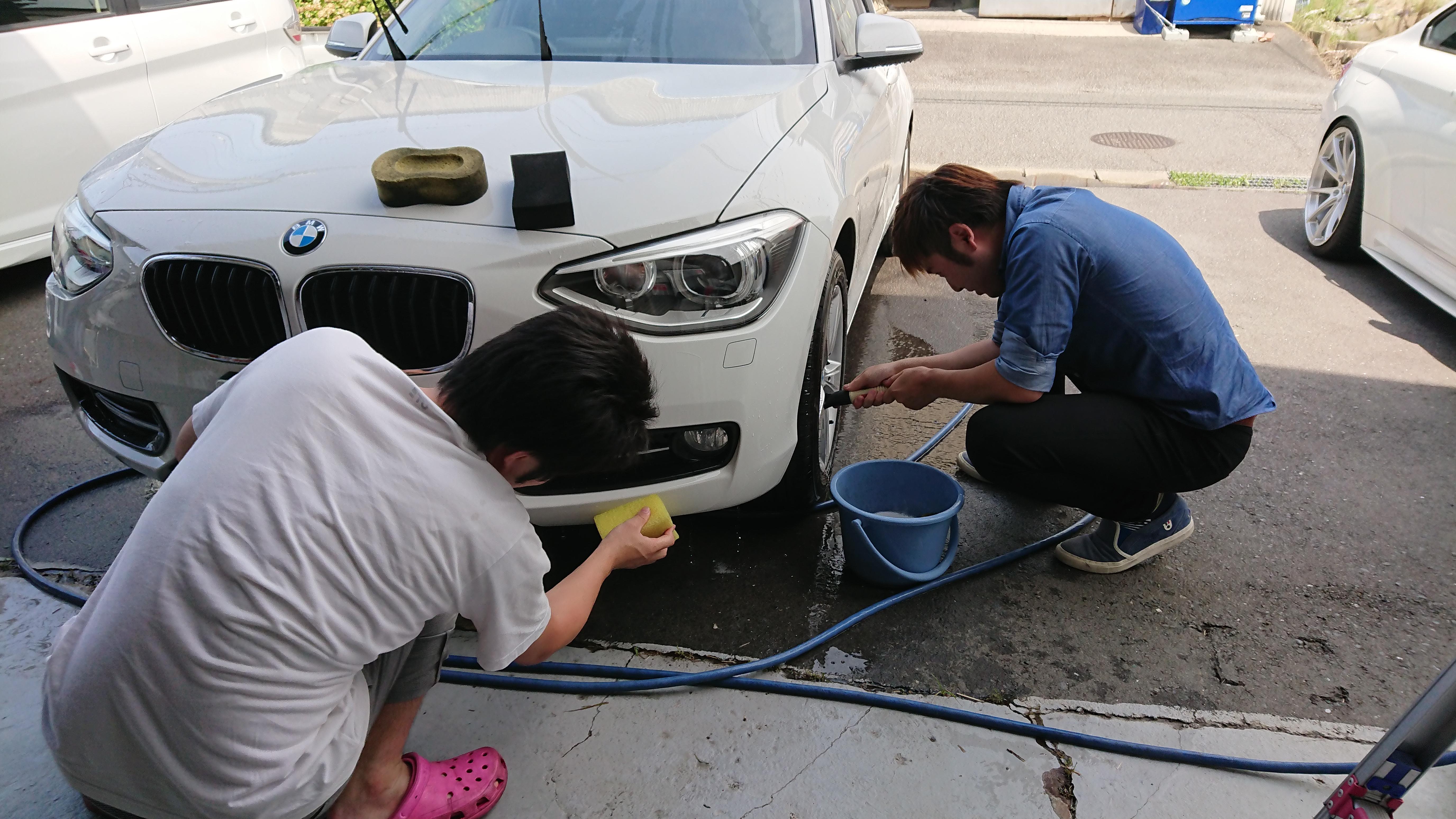 1シリーズ 洗車