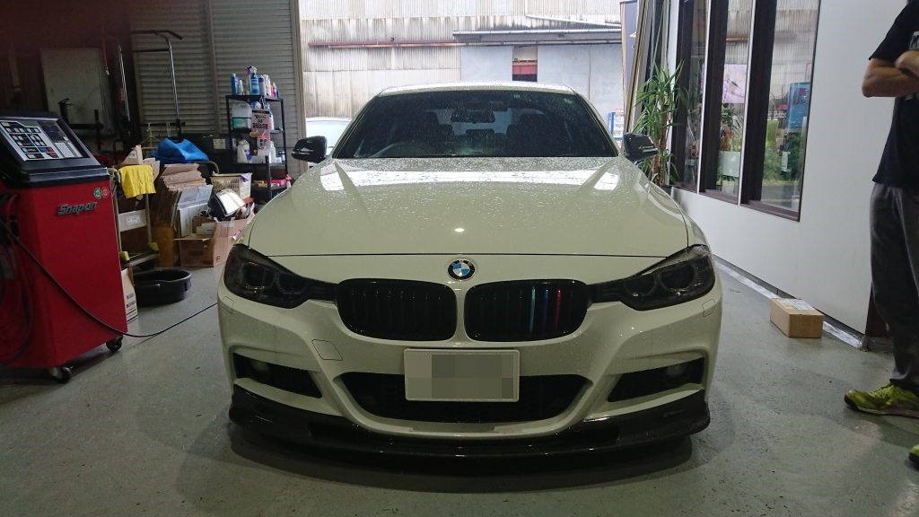 BMW 3シリーズ F30 Mパフォーマンス AVARTH 岐阜県 岐南町 岐阜市 輸入車修理 エアコンクリーニング