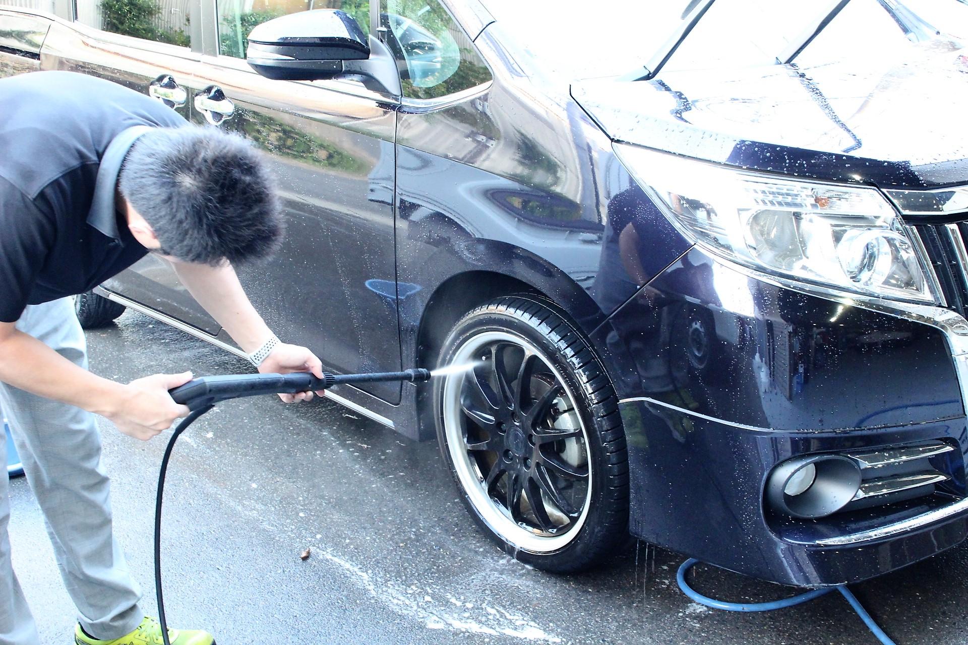 足回り 洗車