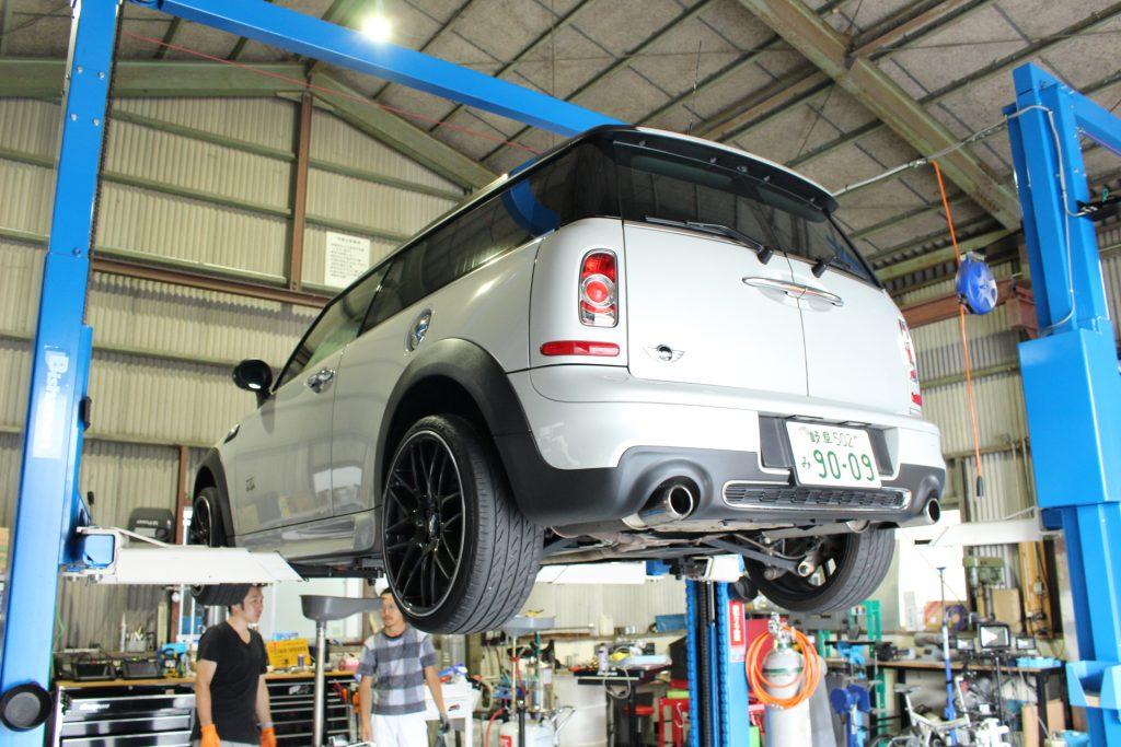 BMW MINI ミッションオイル交換 AVARTH BMW岐阜 BMW修理 MINI修理