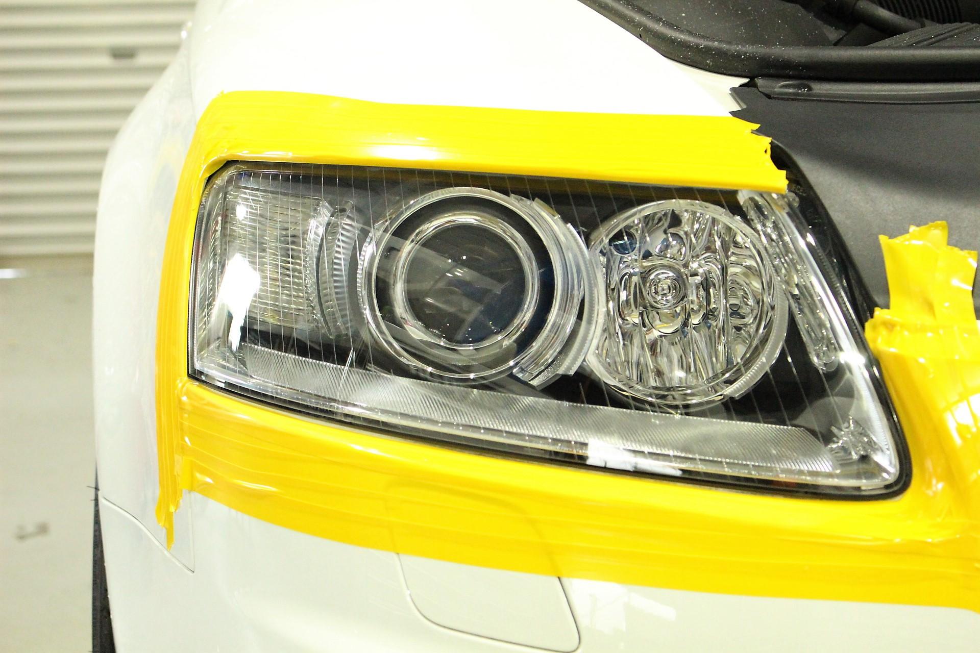 アウディ A6 ドリームコート 施工後 ヘッドライト再生