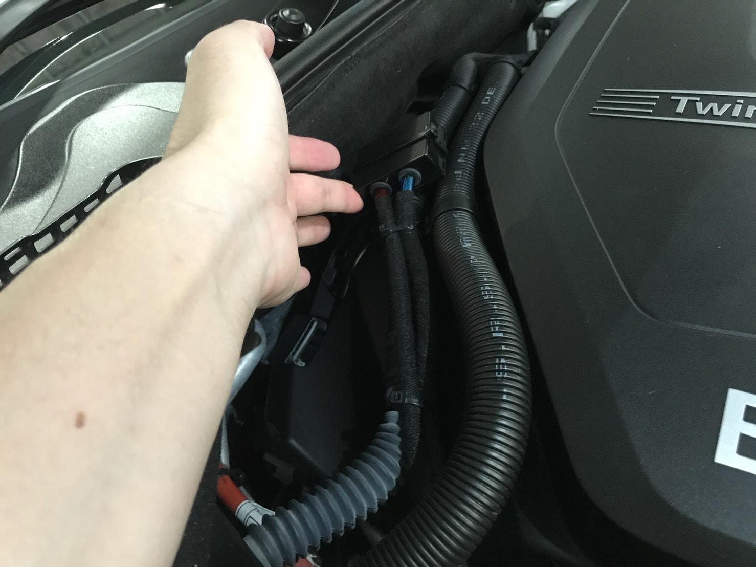 アーシング E3 AVARTH 取り付け中 ヤフーショッピング BMW