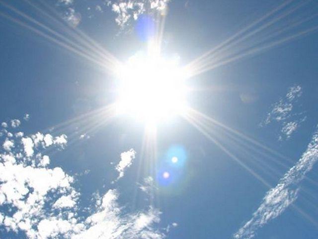 ヘッドライトの劣化の原因となる紫外線のイメージ
