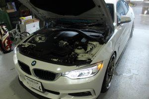 AVARTH BMW BMW修理 F36 4シリーズ BMW岐阜 イグニッションコイル取り付け プラグ交換 岐阜