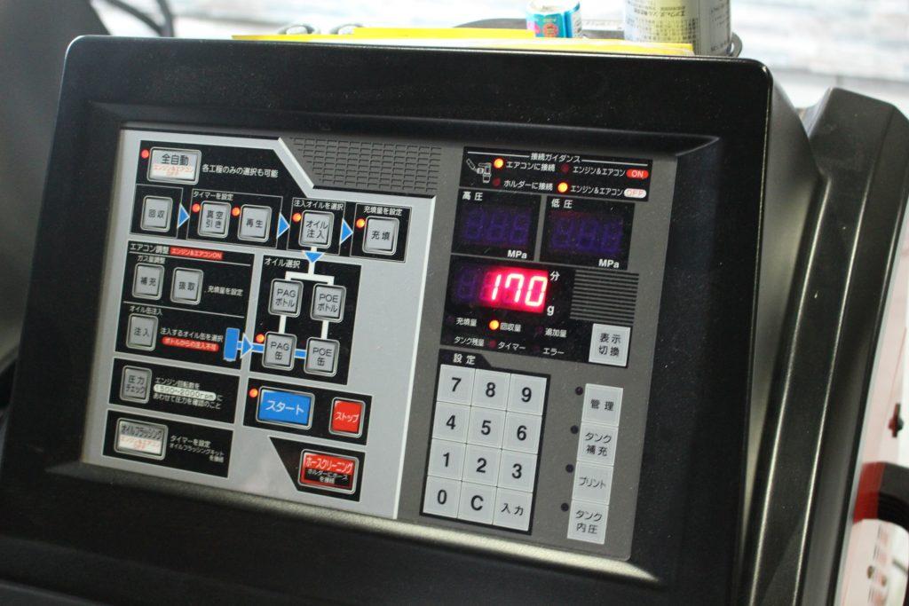 ホンダ NBOX エアコン効かない エアコンクリーニング AVARTH PS134 エアコンガス補充 回収地