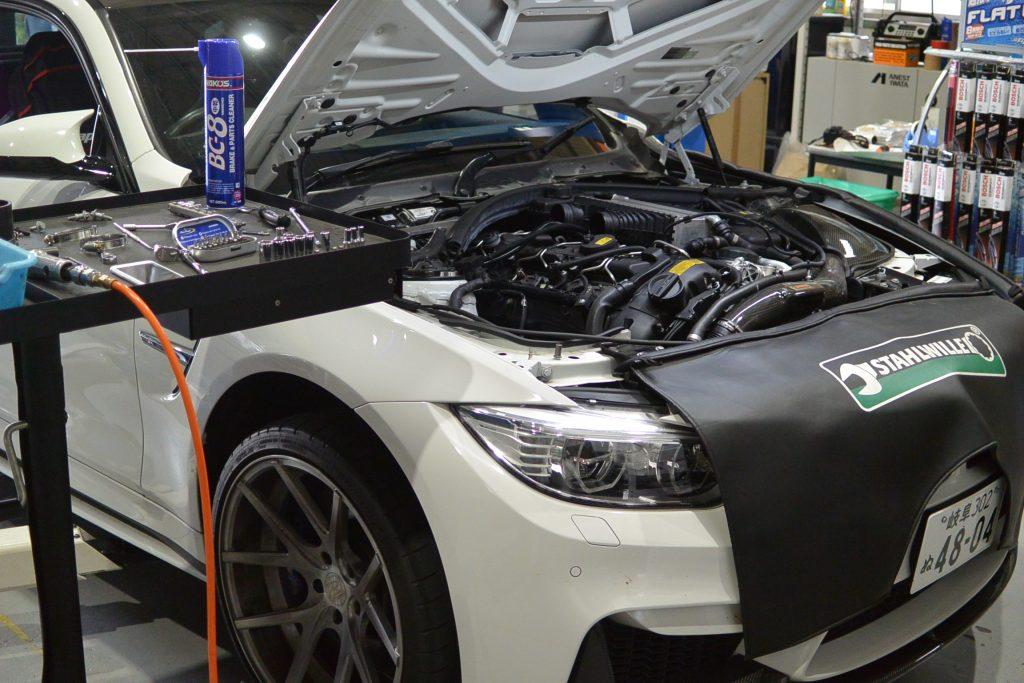 AVARTH BMW岐阜 BMW修理 BMW M4 F82 ハイスパークイグニッションコイル